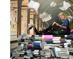 Книги в дар бібліотеці