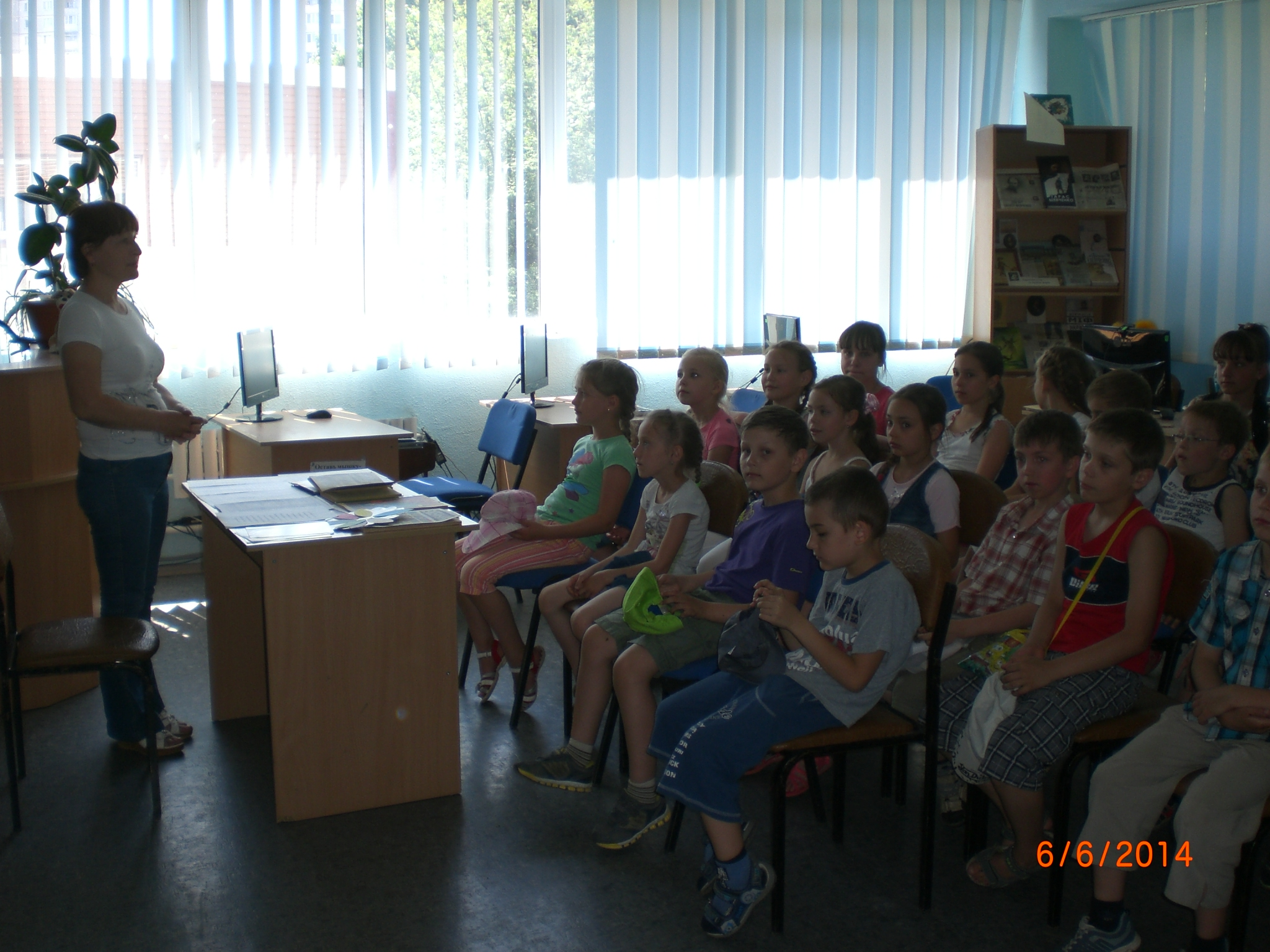 «It is interesting and useful about the nature & raquo; Students listen with interest about nature and caring for her.